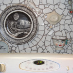 My Mosaic Kitchen Backsplash, by Dora Aldworth Grinnell