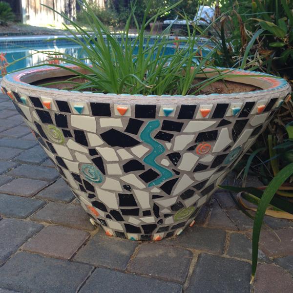 A Mosaic Pot