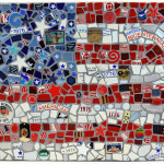 A Mosaic of a Flag